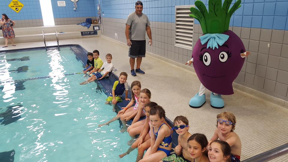Beet by Pool YMCA Huntington