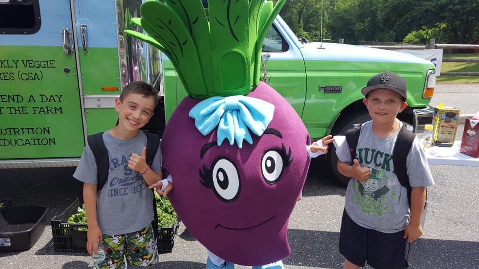 YMCA Huntington 2 Kids with Beet