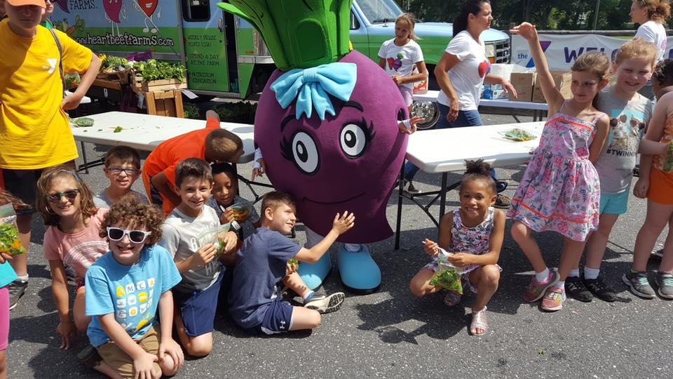 YMCA Huntington Kids with Beet