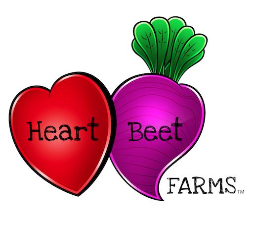 HeartBeet Farms Logo