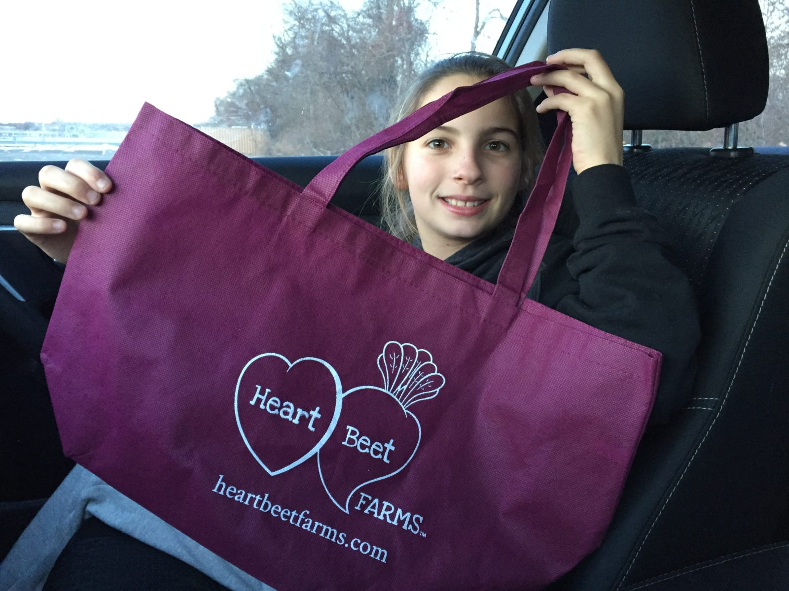 HeartBeet Farms Reusable Bags