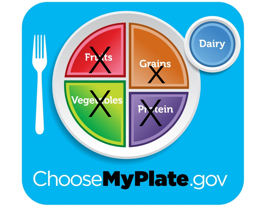 Proposed Food Plate for Food Stamp Recipients