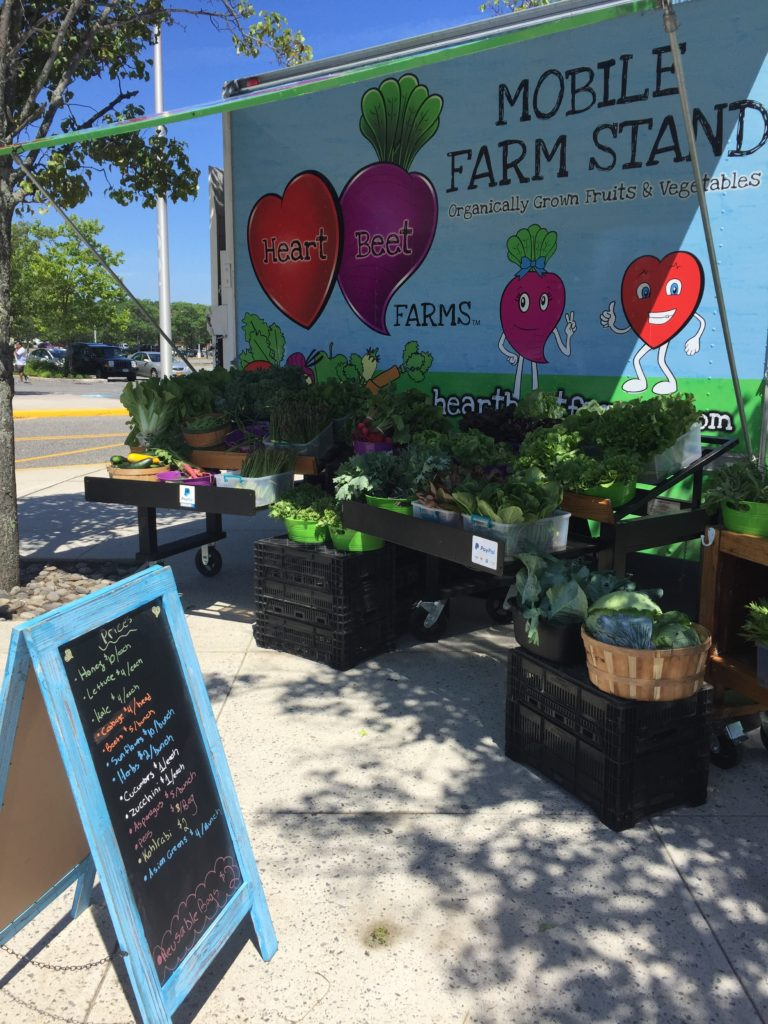 Mall farm stand 2 June 2018