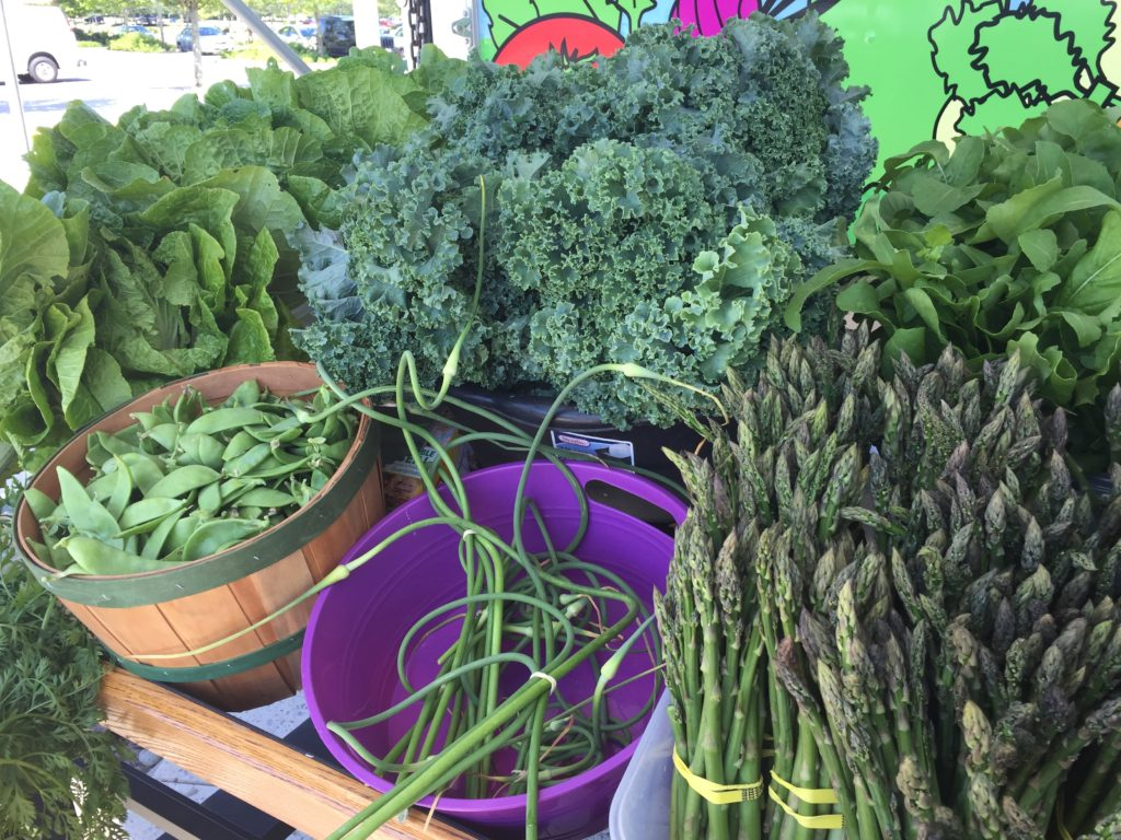 Mobile Farm Stand Greens June 2018