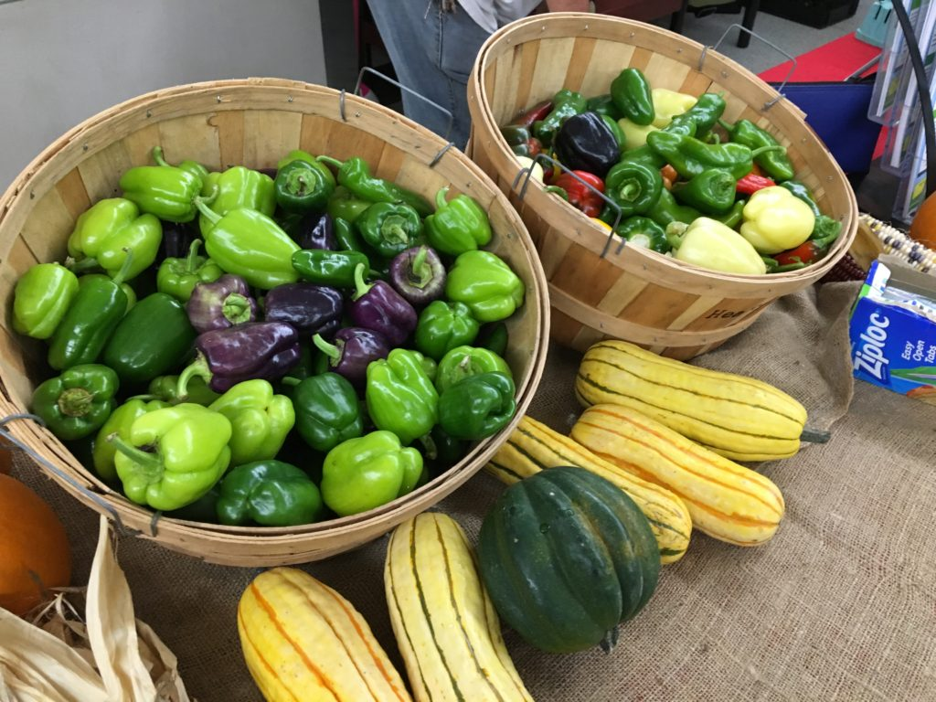 Peppers & Winter Squash from HeartBeet Farms