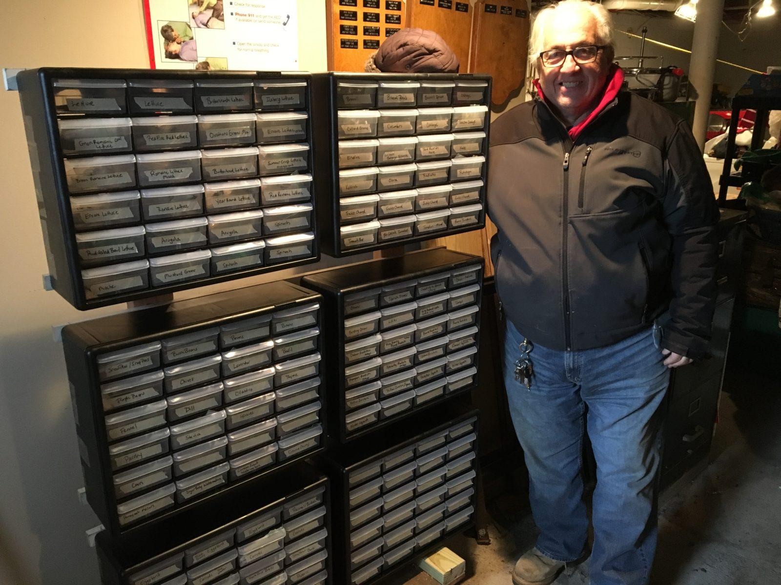 Seed Storage Unit