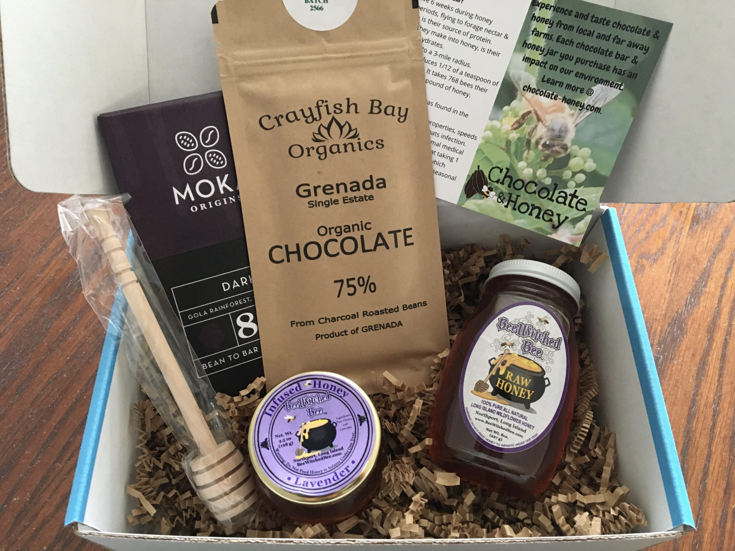 Chocolate & Honey Box A