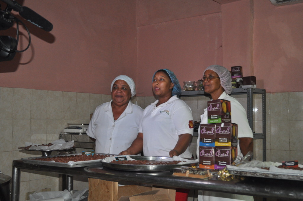 Women Chocolate Makers
