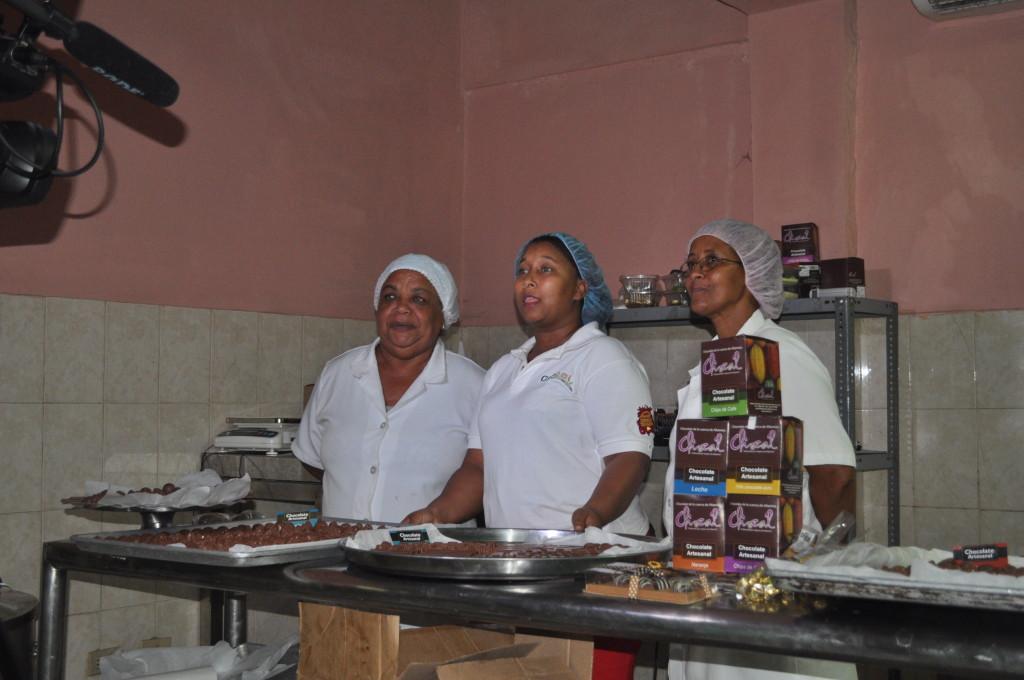 Women Chocolate Makers