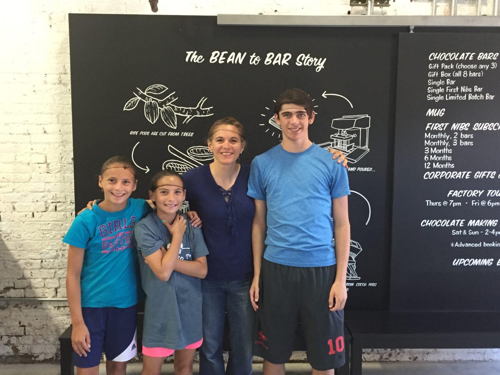family chocolate tour