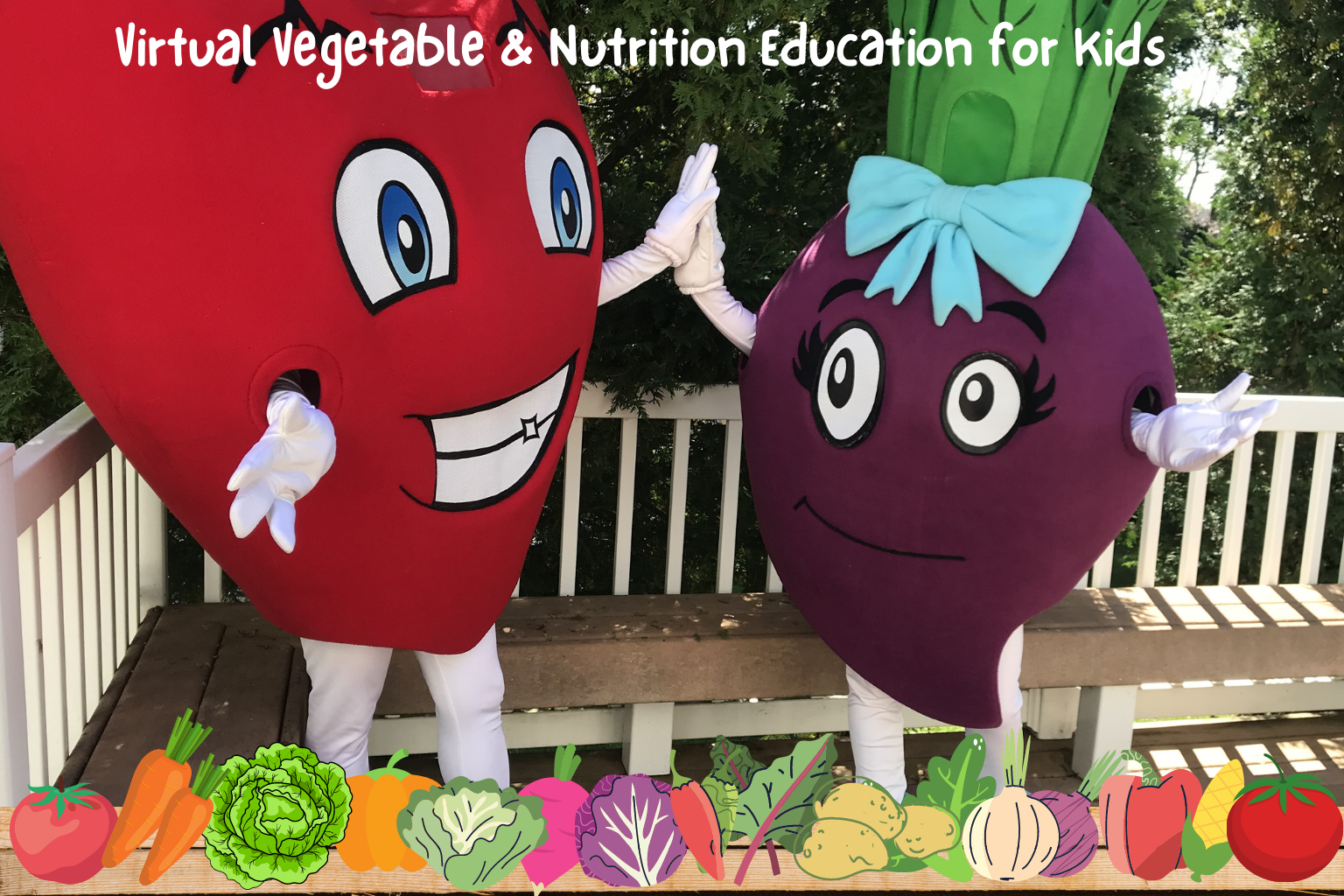 Virtual Vegetable and Nutrition Education for Kids