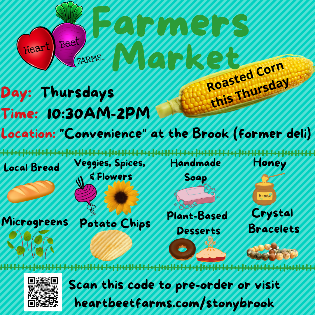 SB Hospital Farmers Market - Roasted Corn